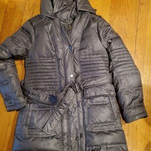 Vince Camuto M long winter hooded down coat